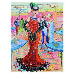"Patricia Govezensky- Original Watercolor ""Coffee and Danish"""