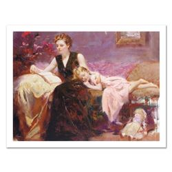"""Pino (1939-2010) """"Precious Moments"""" Limited Edition Giclee. Numbered and Hand Signed; Certificate of"""
