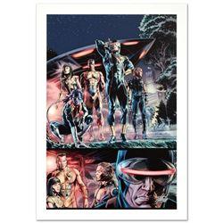 """Wolverine: Origins #34"" Limited Edition Giclee on Canvas by Doug Braithwaite and Marvel Comics. Num"