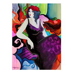 "Patricia Govezensky- Original Watercolor ""Anastasie"""
