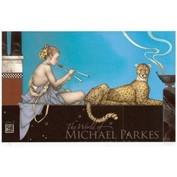 "Michael Parkes ""Dusk"" Original Hand Pulled Stone Lithographs"