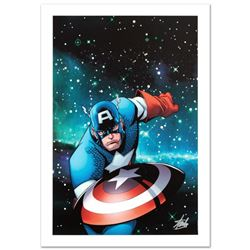 """""""Captain America and the Korvac Saga #1"""" Limited Edition Giclee on Canvas by Craig Rousseau and Marv"""