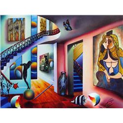 """Ferjo """"PASSAGEWAYS TO THE MASTERS"""" Giclee on Canvas"""