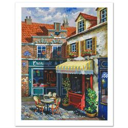 """Anatoly Metlan - """"La Ruelle"""" Limited Edition Serigraph, Numbered and Hand Signed with Certificate of"""