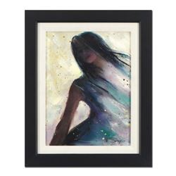 "Vincent Silvano, ""Illusion"" Framed Original Oil Painting on Canvas, Hand Signed with Certificate of"