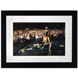 """Eddie Van Halen"" Limited Edition Giclee by Rob Shanahan, Numbered and Hand Signed with Certificate"