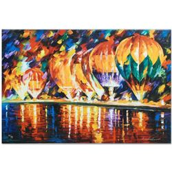 "Leonid Afremov ""With the Stars"" Limited Edition Giclee on Canvas, Numbered and Signed; Certificate o"