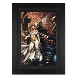 """Uncanny X-Men #494"" Extremely Limited Edition Giclee on Canvas by David Finch and Marvel Comics. Nu"