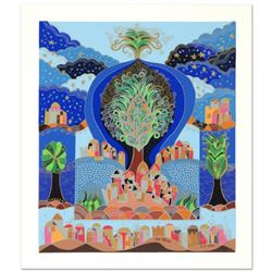 "Ilan Hasson - ""Tree of Life"" Limited Edition Serigraph, Numbered and Hand Signed with Certificate of"