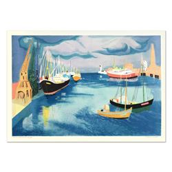 """Georges Lambert (1919-1998), """"Le Harve"""" Limited Edition Lithograph, Numbered and Hand Signed."""