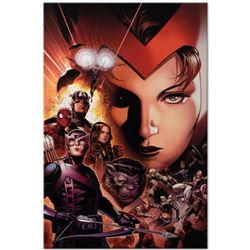 """Marvel Comics """"Avengers: The Children's Crusade #6"""" Numbered Limited Edition Giclee on Canvas by Jim"""