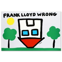 """""""Frank Lloyd Wrong"""" Limited Edition Lithograph by Todd Goldman, Numbered and Hand Signed with Certif"""
