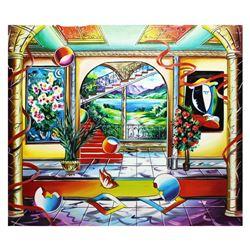 """Alexander Astahov- Original Oil on Canvas """"Fantasy Room"""""""