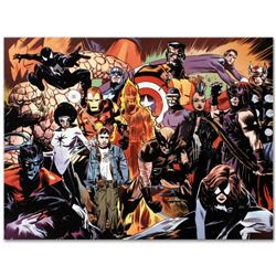 """Marvel Comics """"Marvel 1985 #6"""" Numbered Limited Edition Giclee on Canvas by Tommy Lee Edwards; Inclu"""