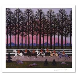 """""""Foxy Gives 'Em The Slip"""" Limited Edition Lithograph by Jane Wooster Scott, Numbered and Hand Signed"""