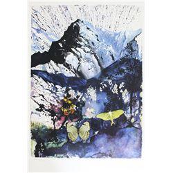 """Salvador Dali- Original Lithograph """"Alpes"""""""