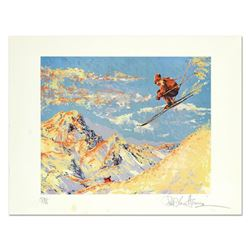 """Paul Blaine Henrie (1932-1999), """"The Sunset Skier"""" Limited Edition Serigraph from a PP Edition, Hand"""