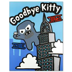 """Goodbye Kitty"" Limited Edition Lithograph (32.5"" x 42"") by Todd Goldman, Numbered and Hand Signed w"