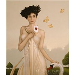 "Michael Parkes ""I Give You My Heart"" Masterworks on Canvas"