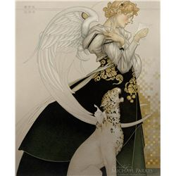 "Michael Parkes ""The Letter Study"" Masterworks on Canvas"