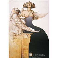 "Michael Parkes ""Aditi"" Original Hand Pulled Stone Lithographs"