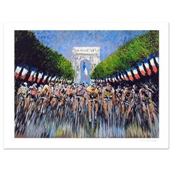 """Guy Buffet - """"The Finish Line"""" Limited Edition Serigraph; Numbered and Hand Signed with Certificate"""