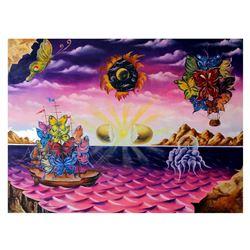 "Eugene Poliarush- Original Oil on Canvas ""Dream Adventure"""