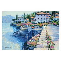 """Howard Behrens (1933-2014), """"Stairway To Carlotta"""" Limited Edition on Canvas, Numbered and Signed wi"""