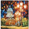 "Leonid Afremov ""Twinkling of the Night"" Limited Edition Giclee on Canvas, Numbered and Signed; Certi"