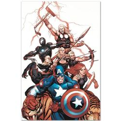 """Marvel Comics """"Ultimate New Ultimates #5"""" Numbered Limited Edition Giclee on Canvas by Frank Cho; In"""