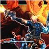 "Image 2 : Marvel Comics ""Cable & Deadpool #21"" Numbered Limited Edition Giclee on Canvas by Patrick Zircher; I"