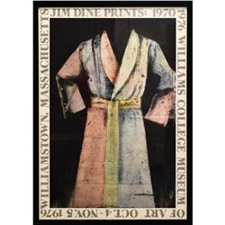 """Jim Dine- Offset Lithograph """"Paintings, Drawings and Etchings"""""""