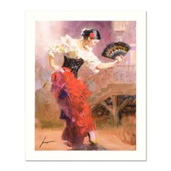 """Pino (1939-2010) """"Spanish Dancer"""" Limited Edition Giclee. Numbered and Hand Signed; Certificate of A"""