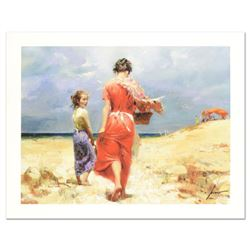 """Pino (1939-2010) """"Summer Retreat"""" Limited Edition Giclee. Numbered and Hand Signed; Certificate of A"""