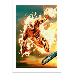 """""""Ultimate Fantastic Four #54"""" Limited Edition Giclee on Canvas by Billy Tan and Marvel Comics. Numbe"""