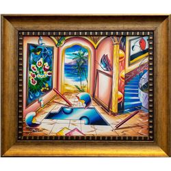 "Alexander Astahov- Original Oil on Canvas ""Come Find Me"""