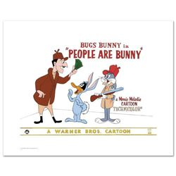 """People are Bunny"" Limited Edition Giclee from Warner Bros., Numbered with Hologram Seal and Certifi"