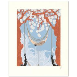"Erte (1892-1990) - ""Spider Web"" Limited Edition Serigraph, Numbered and Hand Signed with Certificate"