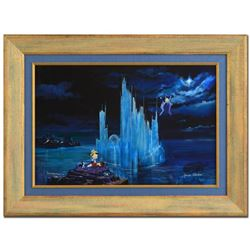 "Peter (1913-2007) and Harrison Ellenshaw, ""Blue Castle"" Framed Limited Edition Giclee on Canvas from"