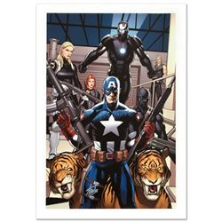 """""""Ultimate New Ultimates #3"""" Limited Edition Giclee on Canvas by Frank Cho and Marvel Comics. Numbere"""