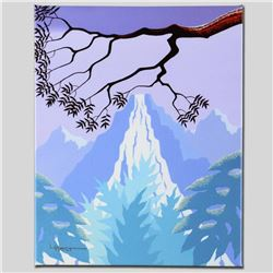 """""""Mystic Falls"""" Limited Edition Giclee on Canvas by Larissa Holt, Protege of Acclaimed Artist Eyvind"""