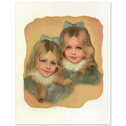 """Rhoda Shapiro, """"Sisters"""" Limited Edition Lithograph, Numbered and Hand Signed by the Artist."""