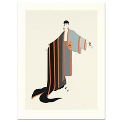"""Erte (1892-1990) - """"Michelle"""" Limited Edition Serigraph, Numbered and Hand Signed with Certificate o"""