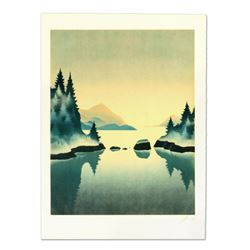 """Rand - """"Pine Trees"""" Limited Edition Lithograph, Numbered and Hand Signed."""
