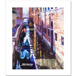 """""""Magic of Venice I"""" Limited Edition Hand Embellished Giclee on Canvas by Howard Behrens (1933-2014)."""
