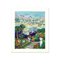 """Michael Pauker, """"Marina II"""" Limited Edition Serigraph, Numbered and Hand Signed."""