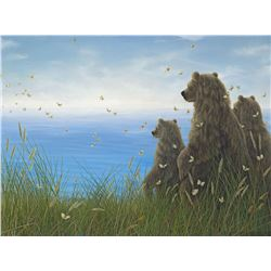 """Robert Bissell """"Infinity"""" Giclee on Canvas"""
