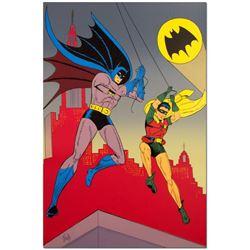 "Bob Kane (1915-1998) - ""Batman & Robin"" Extremely Rare Limited Edition Original Color Lithograph, Nu"