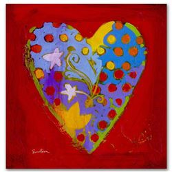 """""""It's A Love Thing VI"""" Limited Edition Giclee on Canvas by Simon Bull, Numbered and Signed with Cert"""