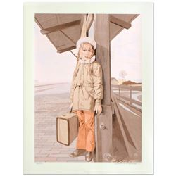 """William Nelson, """"Little Girl Lost"""" Limited Edition Serigraph, Numbered and Hand Signed by the Artist"""